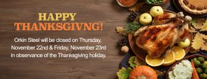 thanksgiving day popup
